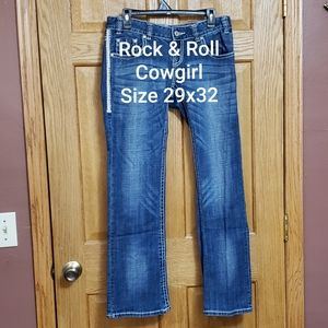 Rock & Roll Cowgirl Jeans 29x32